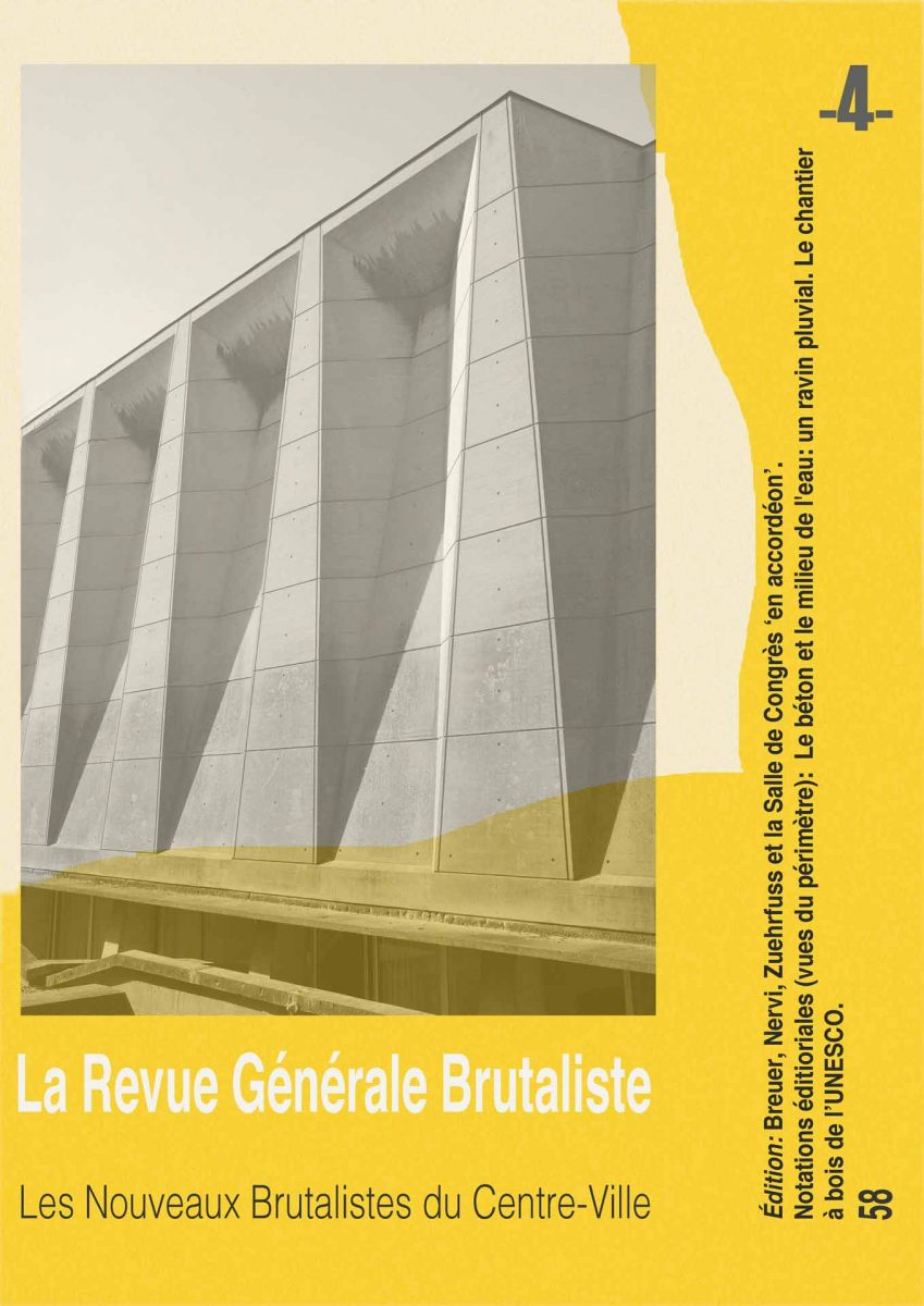 Photolanguage - La Revue Brutaliste UNESCO