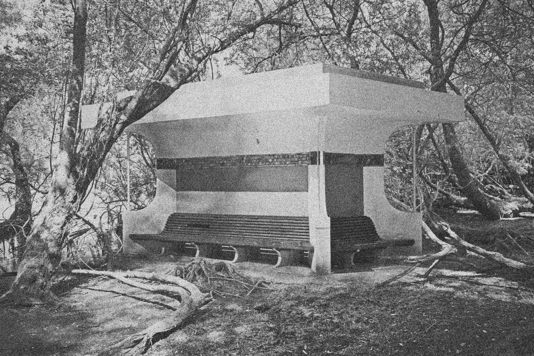 Pavilion Shelter of the Furnace Workers Darwell - Photolanguage (Nigel Green & Robin Wilson)