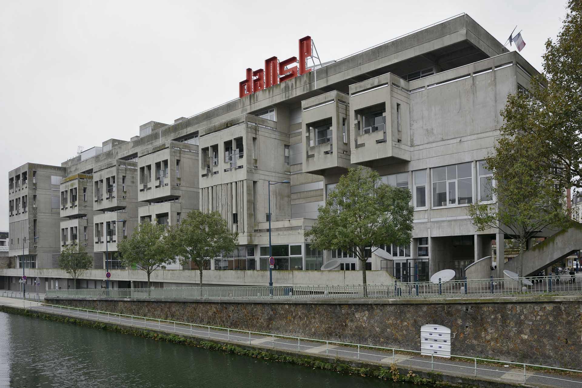 Administrative Centre of Pantin - Jaques Kalisz, Jean Perrottet, 1964-73