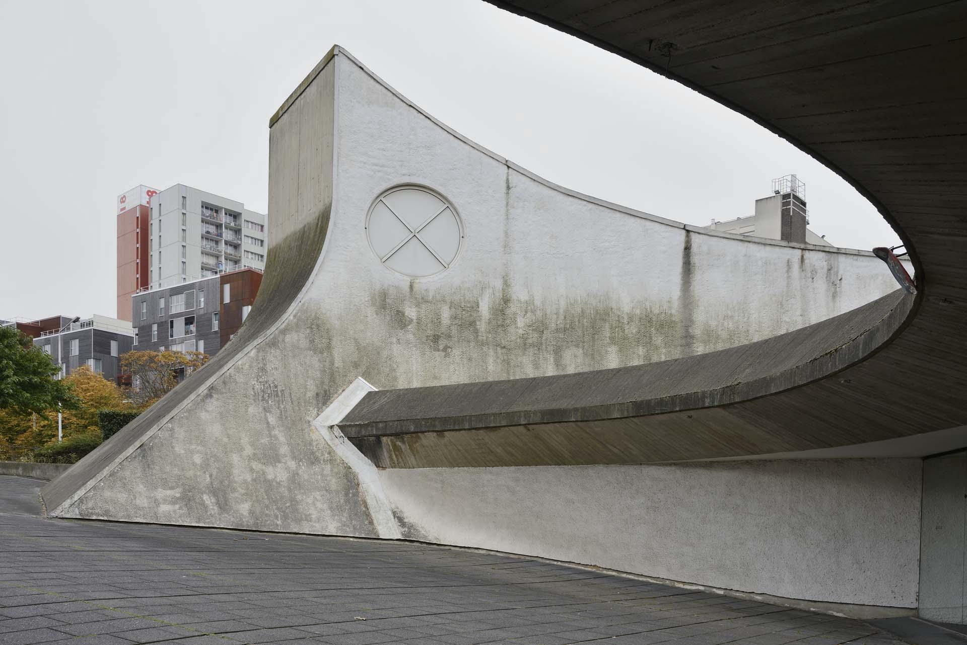 Bobigny, Bourse de Travail - Oscar Niemeyer 1974-78