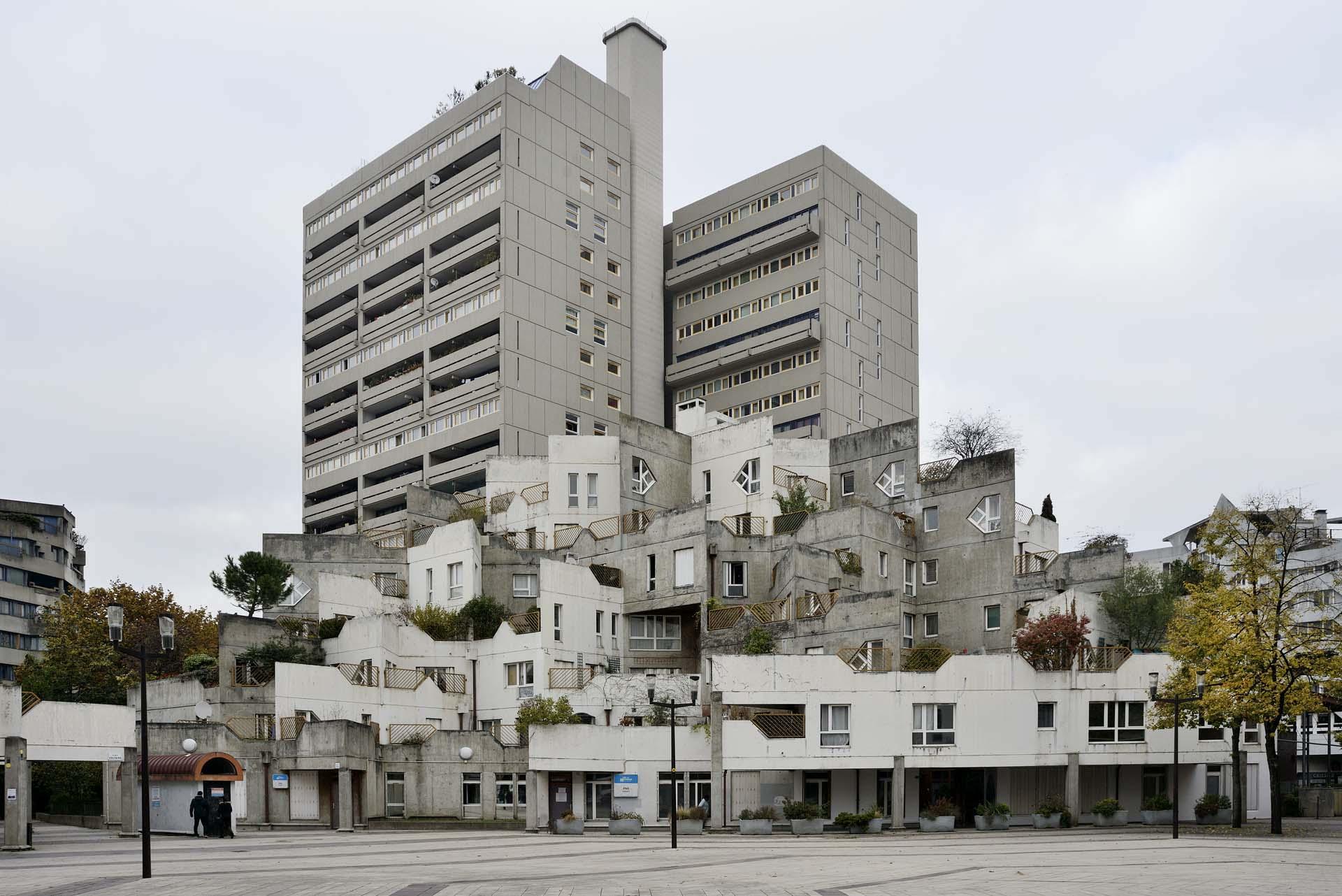 Les Etoiles, Ivry-sur-Seine - Jean Renaudie, Renee Gailhoustet, 1970-72