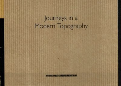 Journeys in a Modern Topography, East Sussex Modern, September 2016