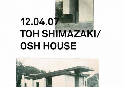 'Toh Shimazaki/ OSh House', Photolanguage's report on a private house in the Surrey countryside by Toh Shimazaki Architects, The Architects' Journal, 2007.