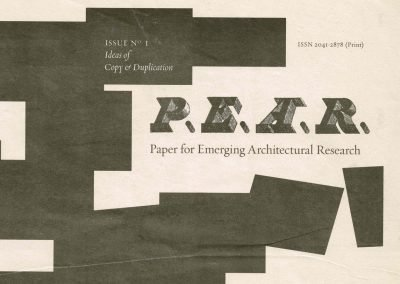 'Stereoscopic Duplication. Or, The Games of Spillepeng and Its Definitions', P.E.A.R. Magazine, Issue no. 1, 2009 (4 pages).